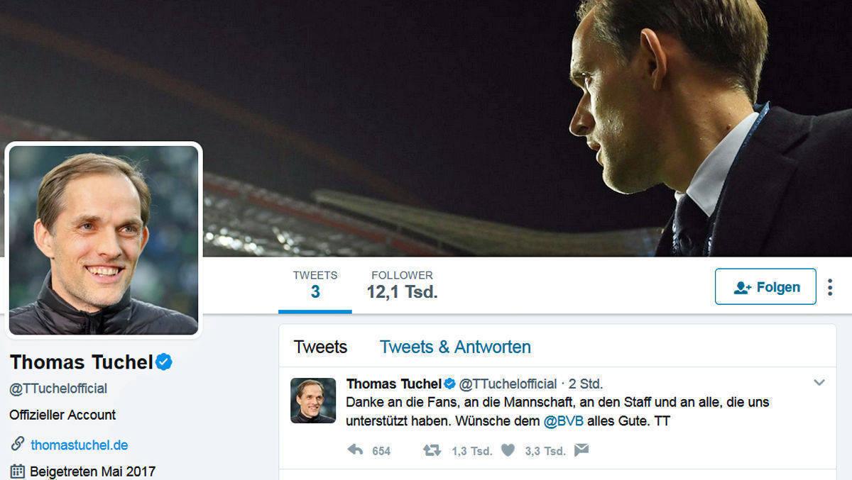Borussia Dortmund trennt sich von Trainer Tuchel