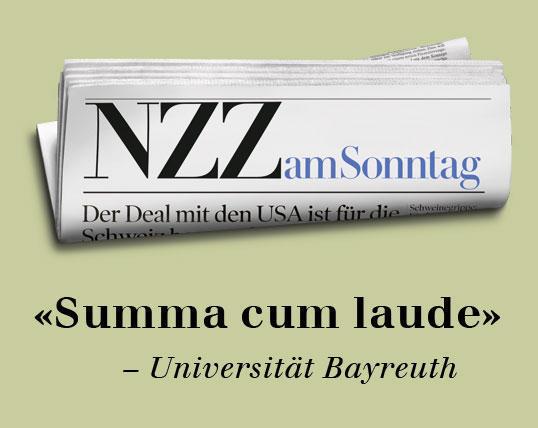 Summa cum laude. Werbung mit aktuellem Bezug. Sehr gut! via www.wuv.de