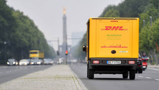 DHL-Scooter