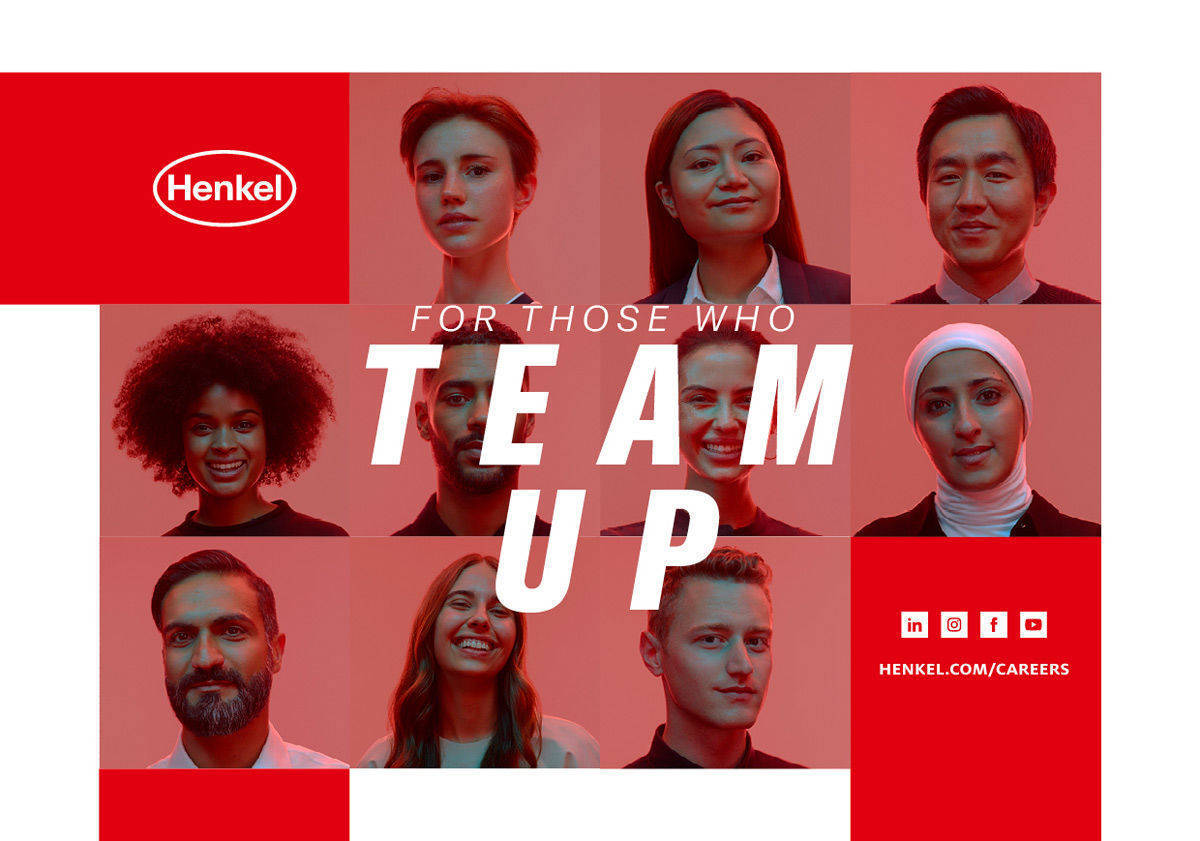"""For Those Who Step Up"" heißt die neue globale Employer Branding-Kampagne von Henkel."