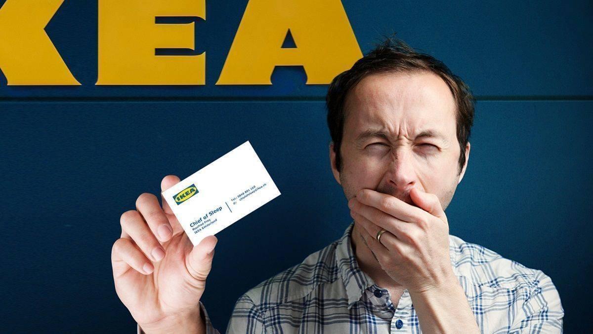 Ikea Schweiz: Chief of Sleep gesucht