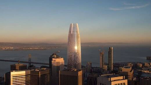 Der Salesforce-Tower in San Francisco.