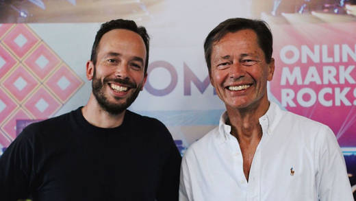 Thomas Middelhoff (re) mit Philipp Westermeyer