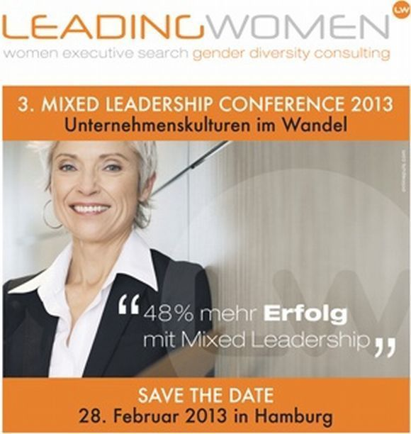 "Einladung zur ""3.Mixed Leadership Conference"""