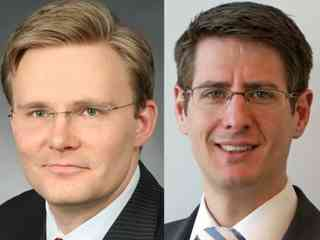 Holger Laube und Andreas Pohle leiten Technology & Financial Services