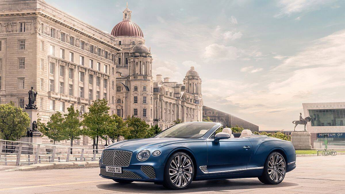Der Continental GT Mulliner Convertible von Bentley.