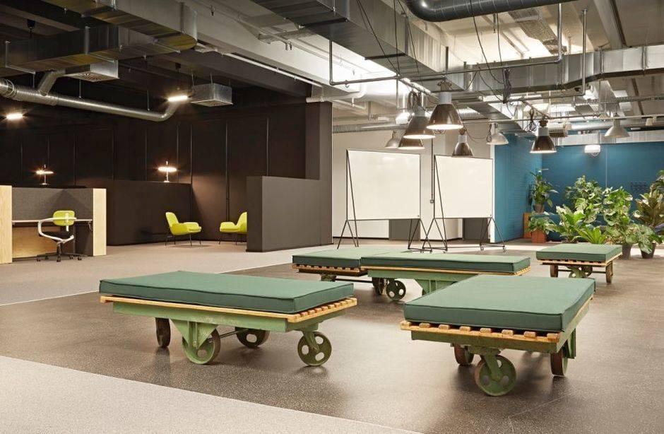 collabor8 das ist der coworking space von otto w v. Black Bedroom Furniture Sets. Home Design Ideas