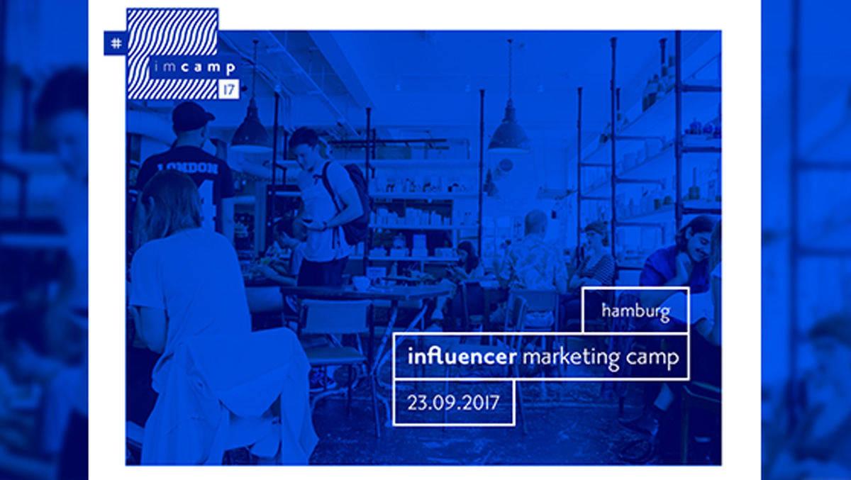 influencer marketing camp in hamburg w v. Black Bedroom Furniture Sets. Home Design Ideas