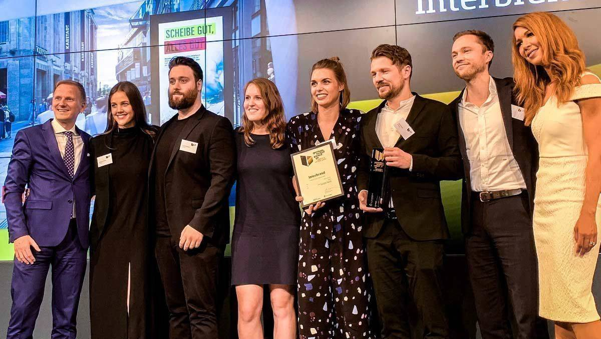 "Interbrand ist ""Agency of the Year"" beim German Brand Award."