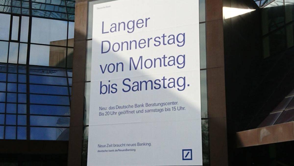Deutsche Bank Werben