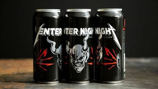 Enter Night Pilsner: Metallicas Einstieg in den Biermarkt.