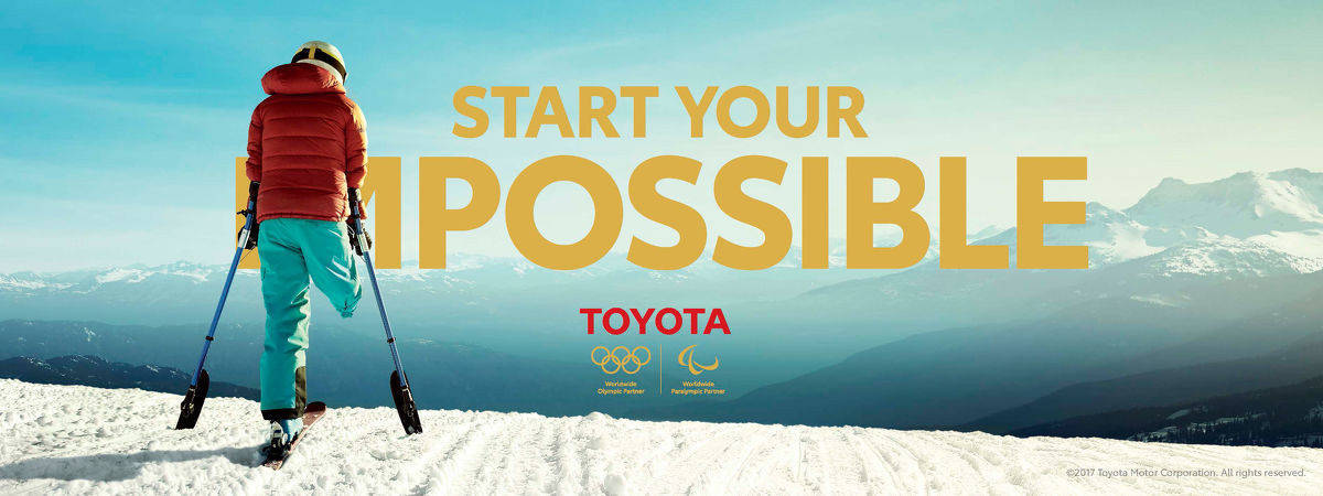 "Die Olympia-Kampagne ist Teil der Marken-Initiative ""Start your impossible""."