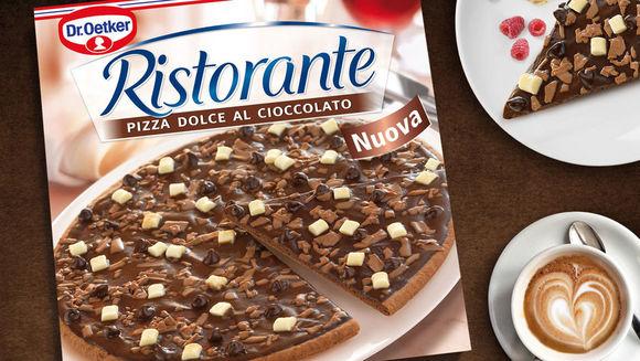 dr oetker bringt schokoladenpizza auf den markt w v. Black Bedroom Furniture Sets. Home Design Ideas