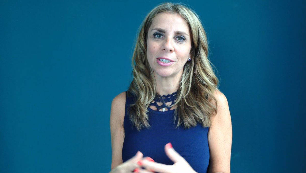 Nicola Mendelsohn,VP EMEA, im W&V-Interview im Hamburger Facebook-Büro