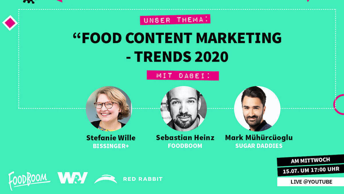 We Are Food: Gutes Content Marketing löst Kundenprobleme