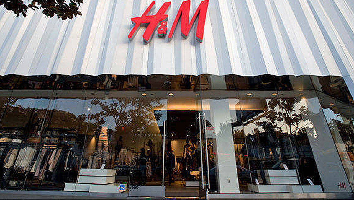 Ein H&M-Laden in Los Angeles.