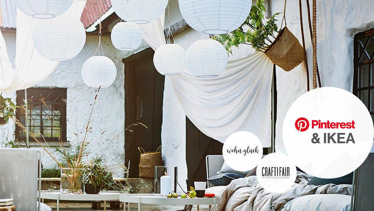 ikea und pinterest bewerben das sch nste draussenzimmer w v. Black Bedroom Furniture Sets. Home Design Ideas