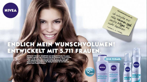 werbung shampoo