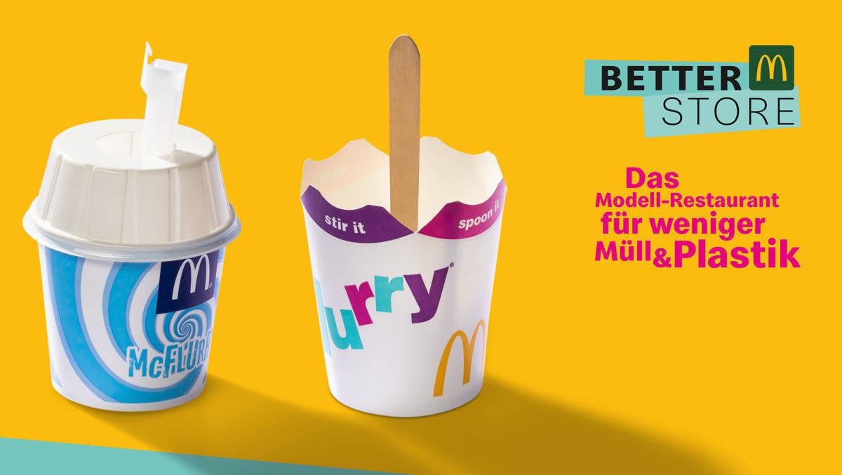 McDonald's testet Plastik-Alternativen