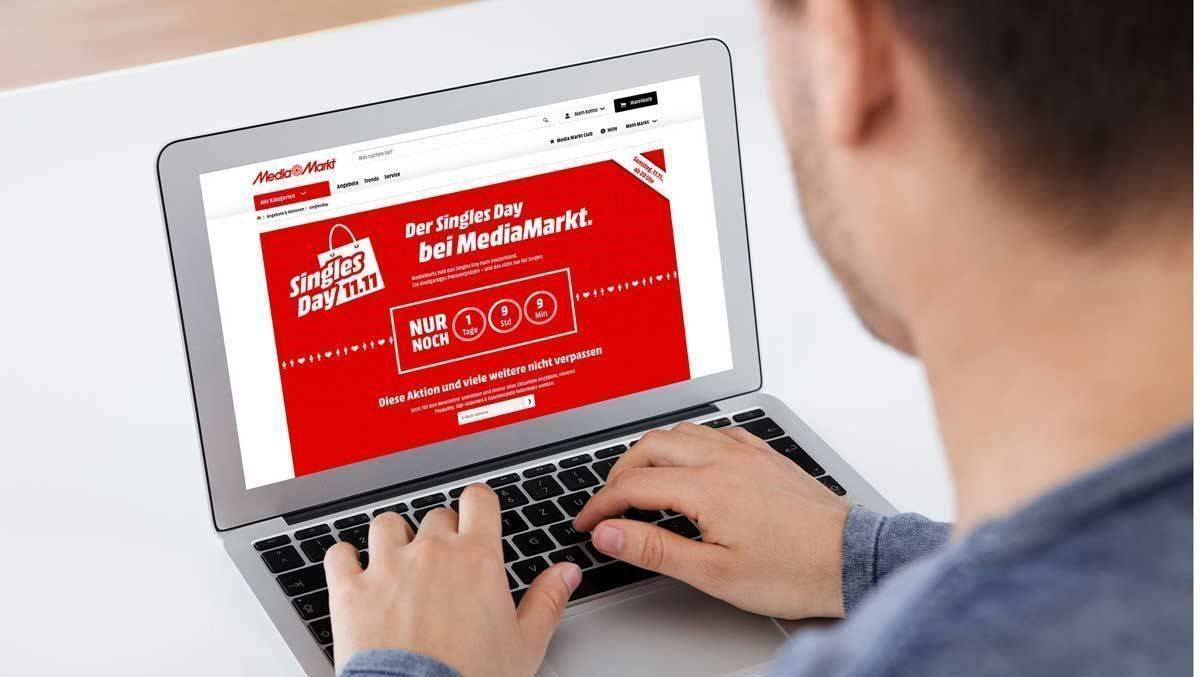 Media-Markt pusht den Singles Day