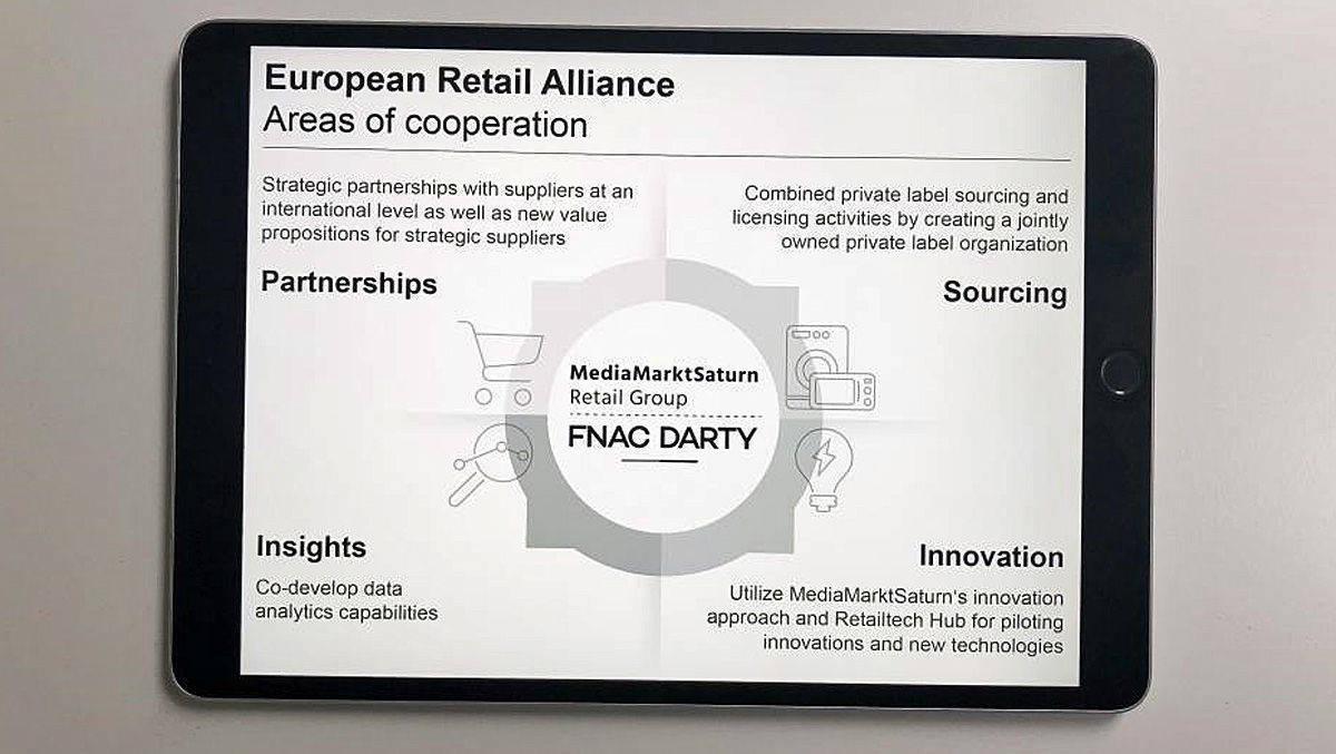 Geburtsstunde der European Retail Alliance.