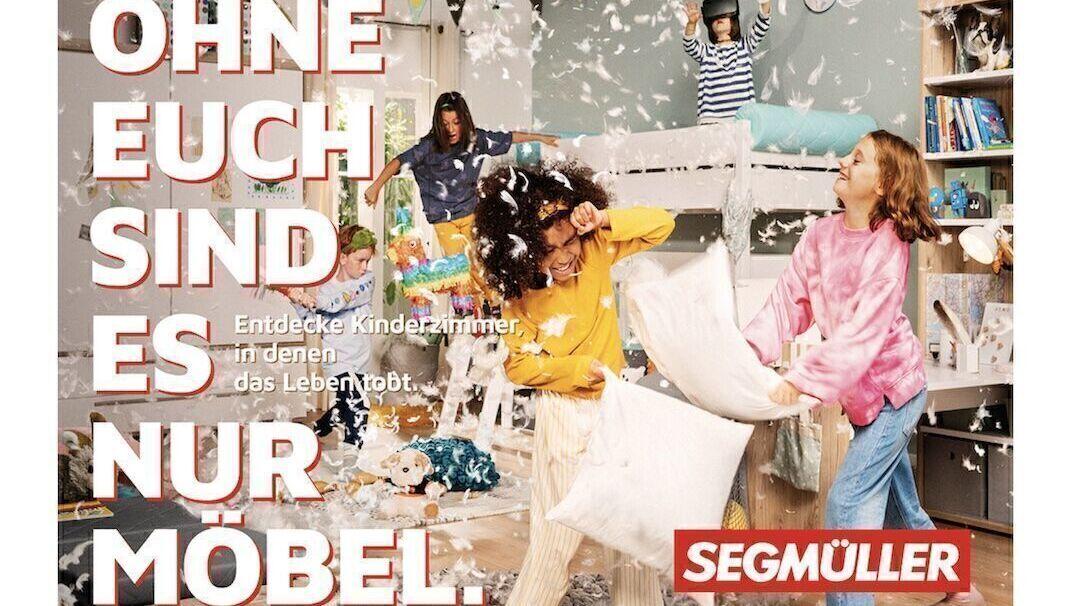 Menschen statt Möbel: Segmüller-Auftritt von Überground   W&V