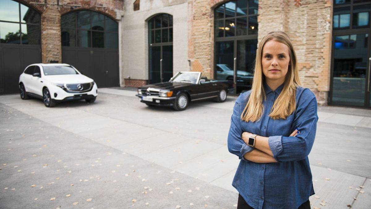 Bettina Fetzer, neue Marketingchefin von Mercedes-Benz