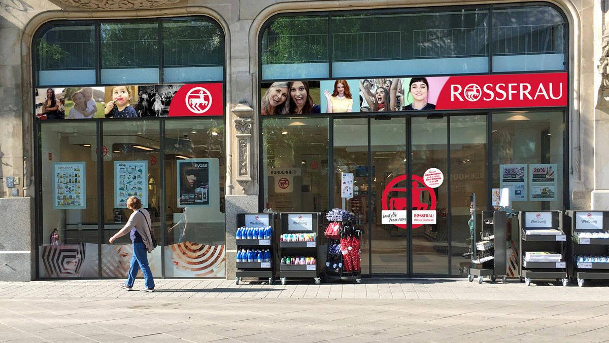 rossmann filiale wird am 8 m rz zu rossfrau w v. Black Bedroom Furniture Sets. Home Design Ideas
