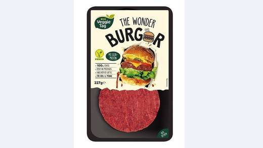 Der Wonder Burger - ab 5. August im Sortiment.