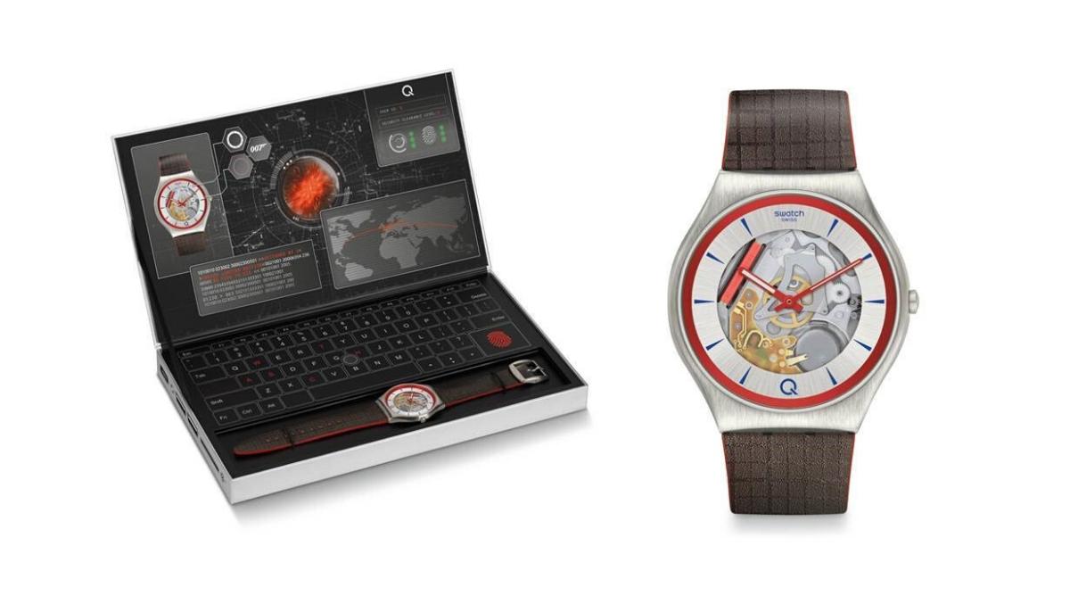 """Swatch präsentiert neue Limited Edition-Uhr """"Q""""   W&V"""