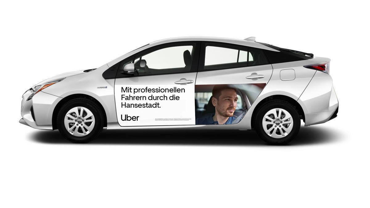 Marketingkampagne: Uber startet in Hamburg