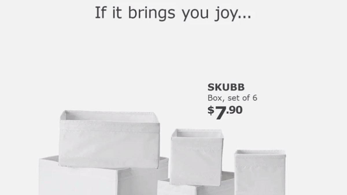 wie sich ikea in singapur marie kondo zu nutzen macht w v. Black Bedroom Furniture Sets. Home Design Ideas