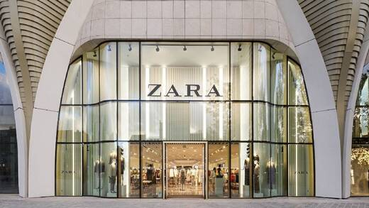 Zara-Filiale in Brüssel.