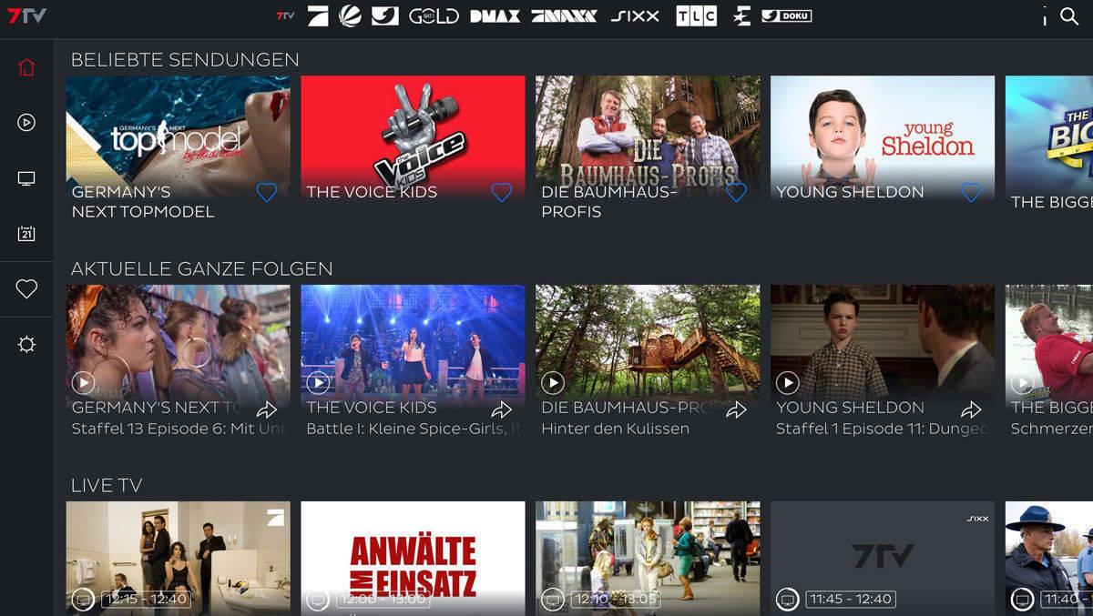 7tv Nimmt Externe Inhalte Mit Auf Die Plattform Wv