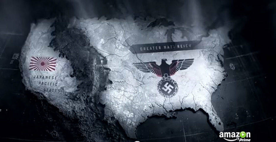 "Hätten die Alliierten den Zweiten Weltkrieg nicht gewonnen, könnte die Karte der USA nun so aussehen: ""The Man in the High Castle"" nach Philip DIck läuft bei Amazon Prime."