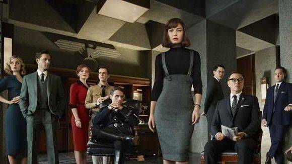 "Amazon lässt für seinen Streamingdienst eine 3. Staffel der alternativen Weltgeschichte ""The Man in the High Castle"" drehen."