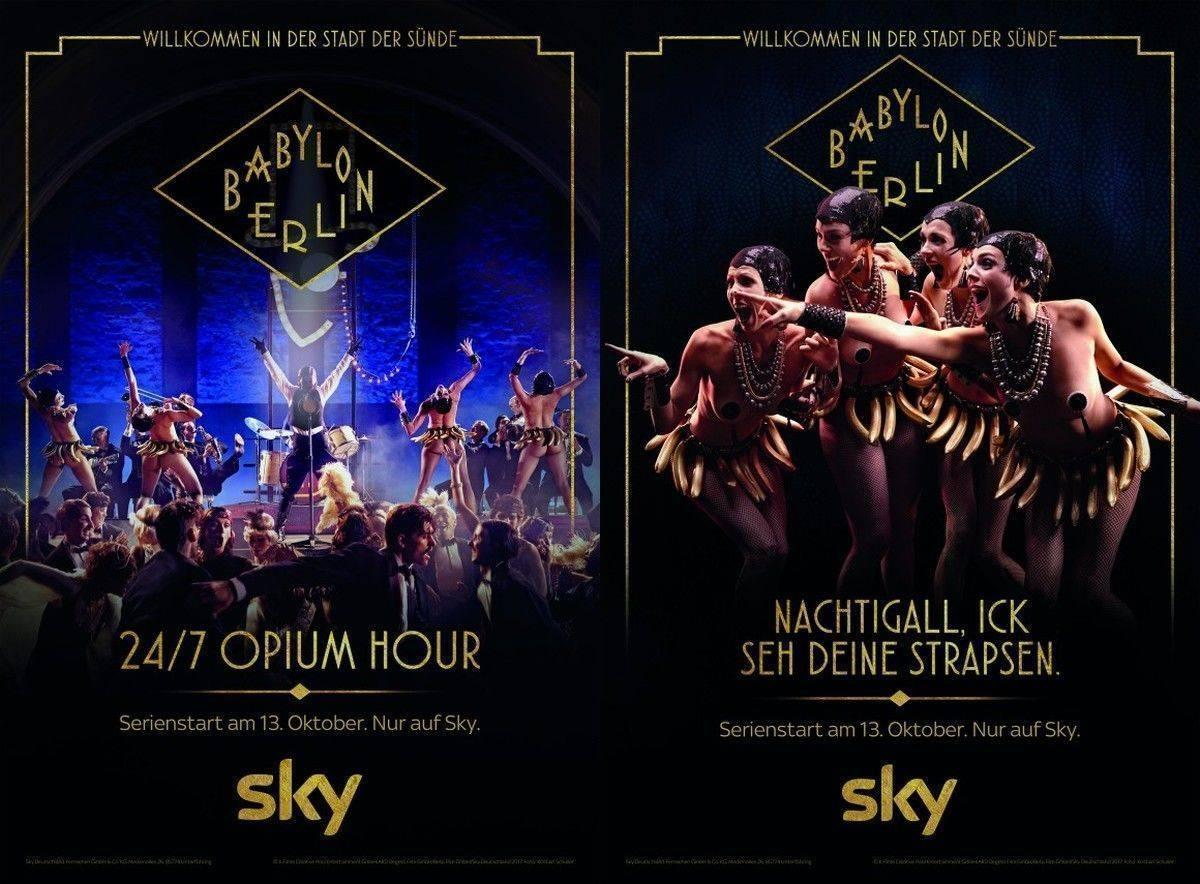Sky Startet Kampagne Zu Babylon Berlin Wv