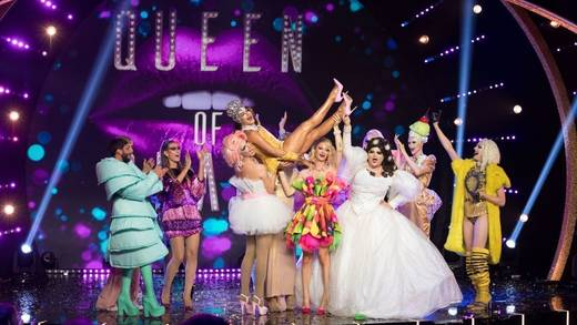 "Buntes Finale: Thema der letzten ""Queen of Drags""-Folge war ""Candyland"""