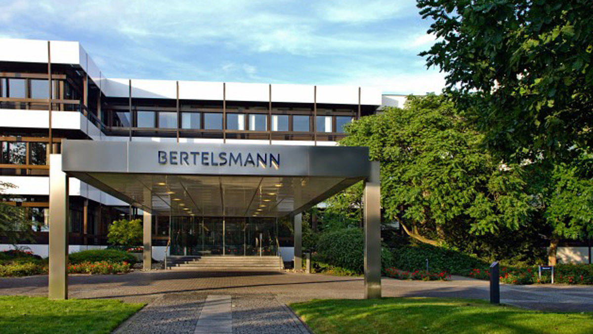 Das Corporate Center von Bertelsmann in Gütersloh.