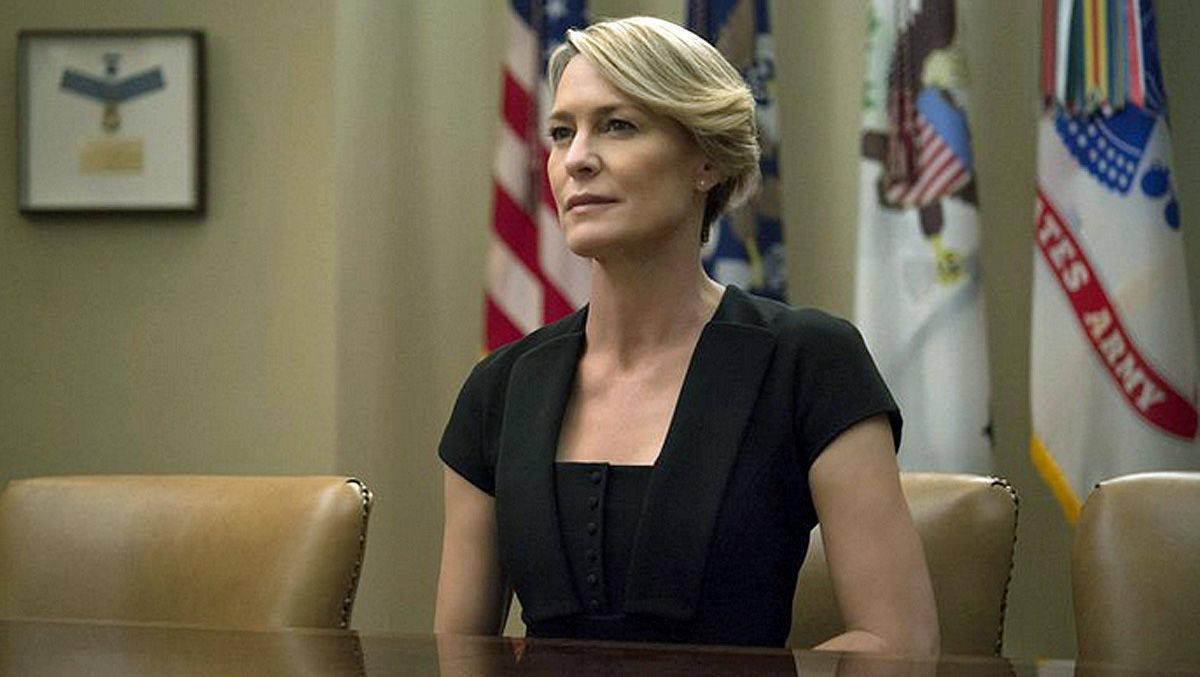 "Robin Wright verdient pro Folge ""House of Cards"" 80.000 Euro weniger als Kevin Spacey."