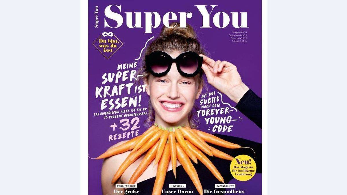 """Super You"" kommt am 21. August an den Kiosk."