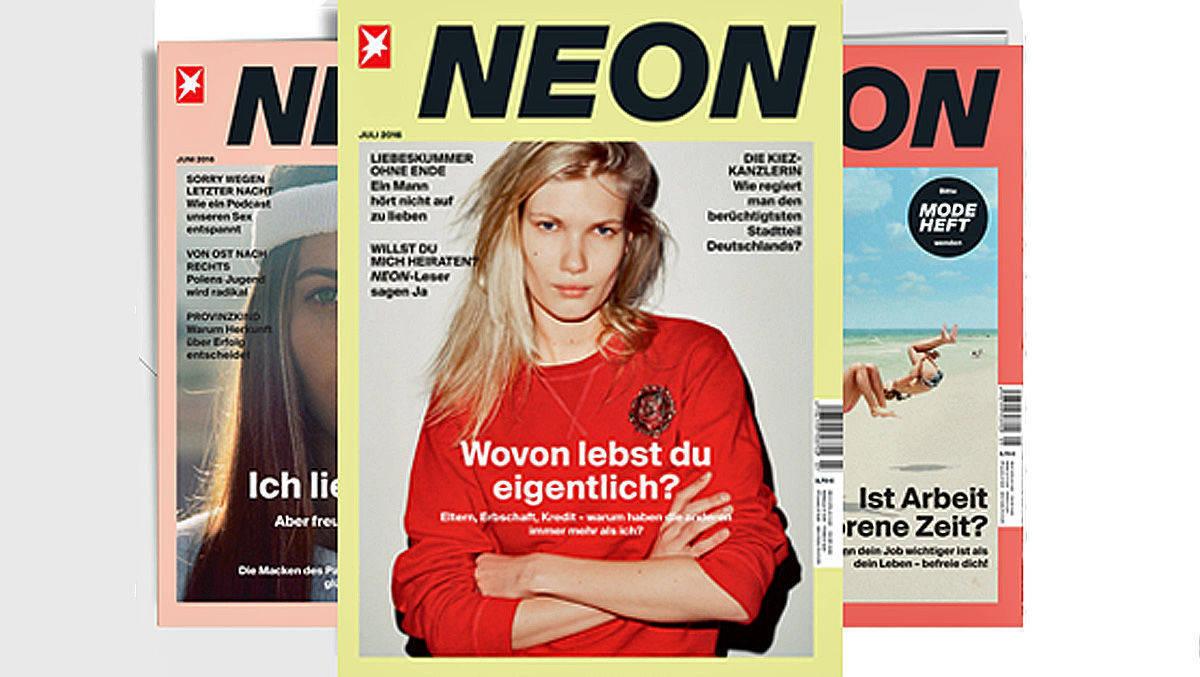 G+J stellt die Zeitschrift Neon ein