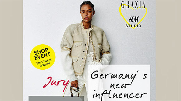 w v grazia sucht zusammen mit h m germany 39 s new influencer. Black Bedroom Furniture Sets. Home Design Ideas