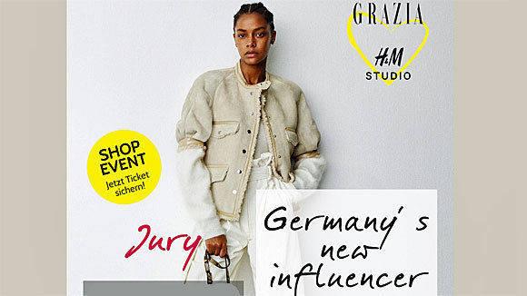 grazia und hm suchen sich jetzt selbst influencer - Hm Online Bewerben