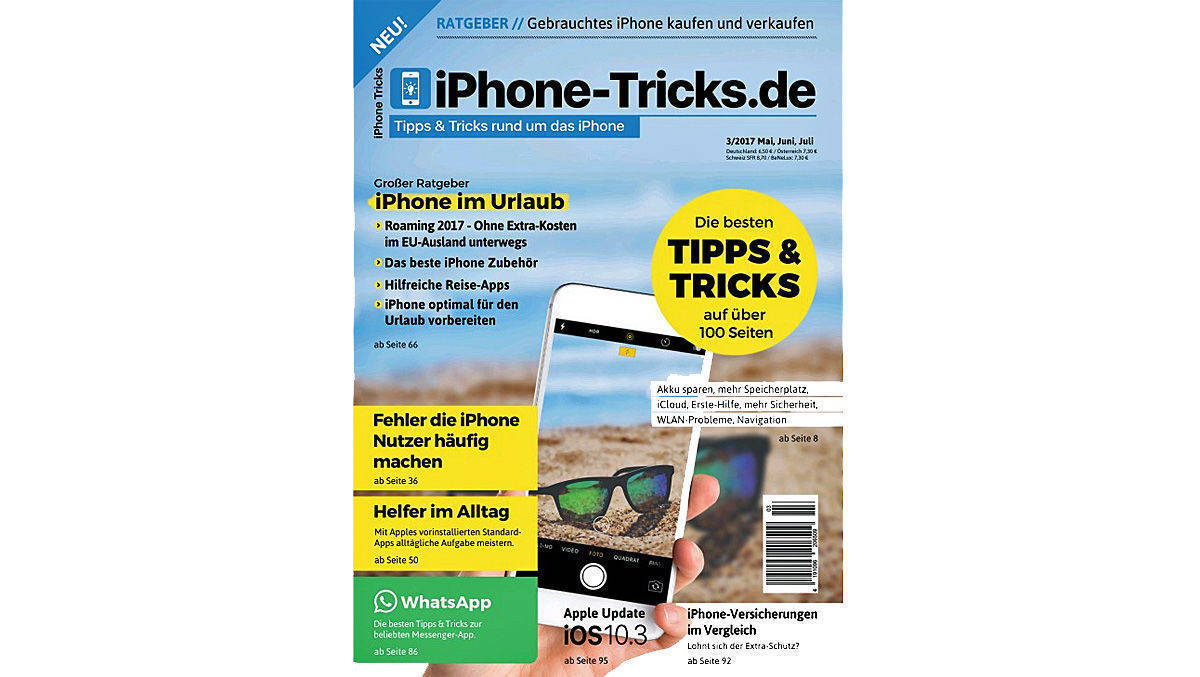 Printneustart, der sich an Apple-Fans richtet: iPhone-Tricks.de.