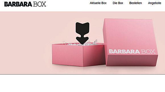 gruner jahr verschickt die barbara box w v. Black Bedroom Furniture Sets. Home Design Ideas