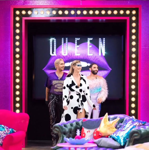 "Heidi Klums Premiere bei ""Queen of Drags"""