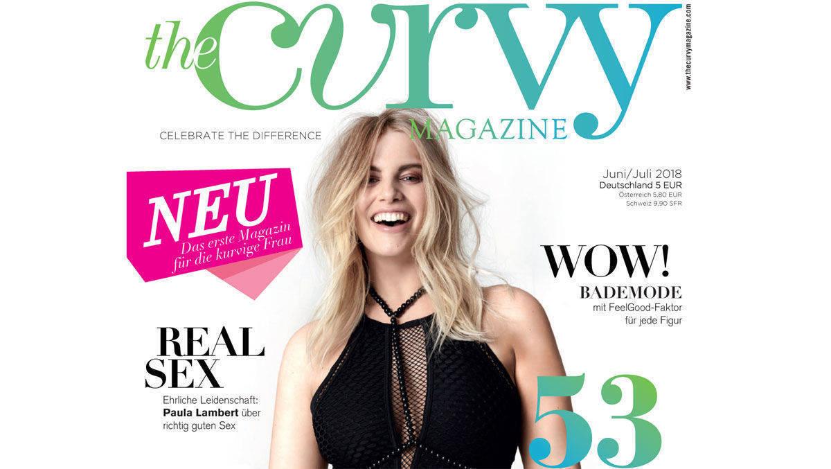 Höchste Zeit: Curvy Magazine widmet sich kurvigen Frauen   W&V