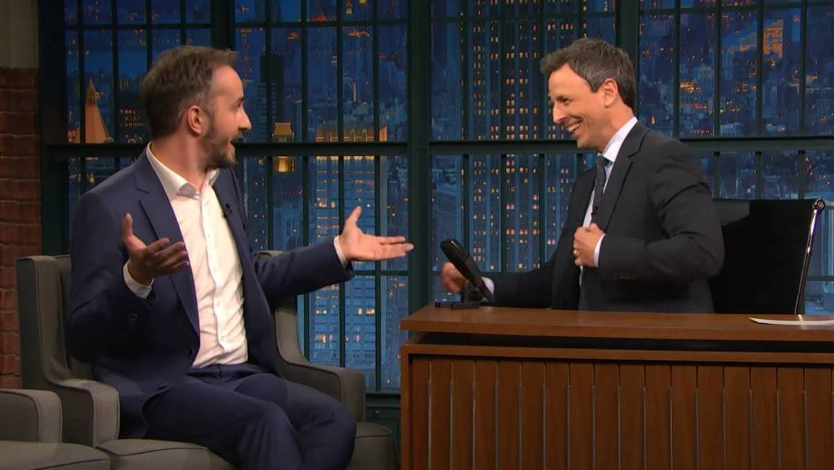Jan Böhmermann Seth Meyers
