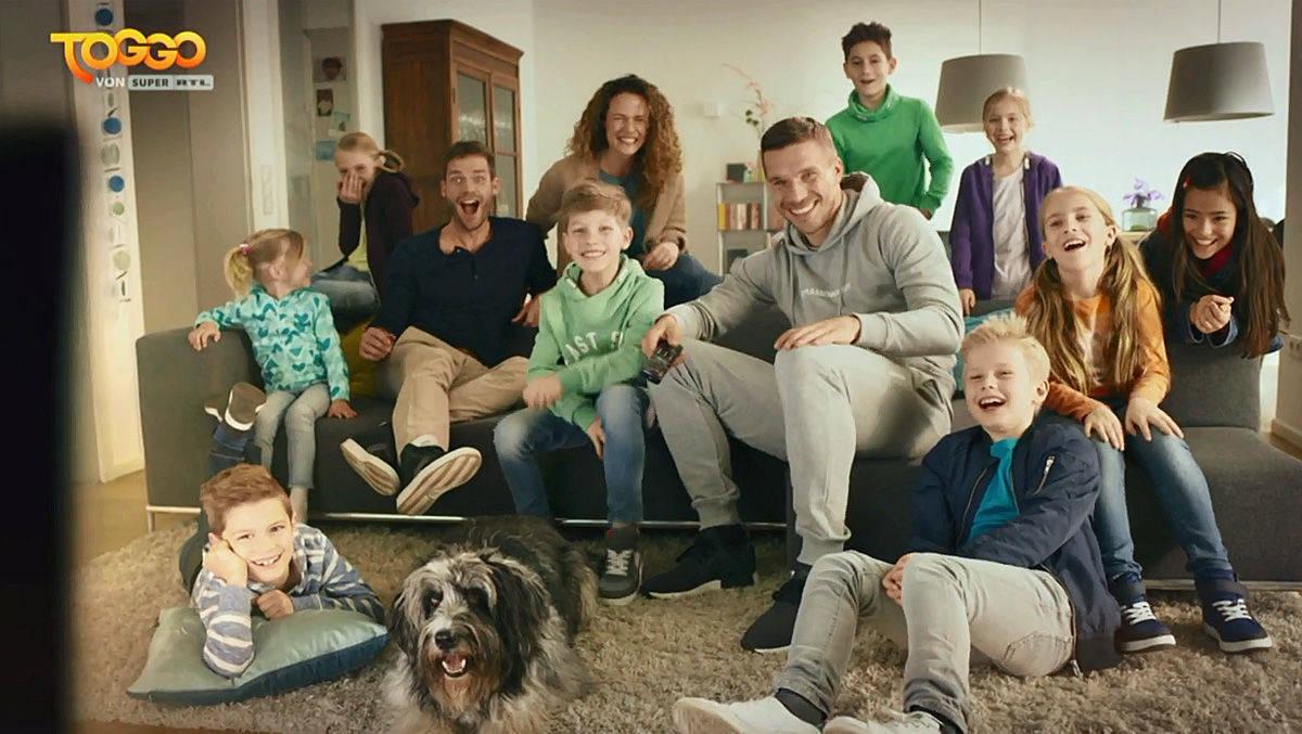 Lukas Podolski wird Markenbotschafter für Super RTL
